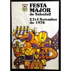 FESTA MAJOR SABADELL 1978