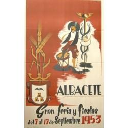 ALBACETE 1953 GRAN FERIA Y FIESTAS