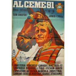 ALGEMESI FERIA Y FIESTAS 1944