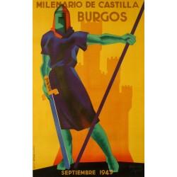 BURGOS 1943 MILENARIO DE CASTILLA