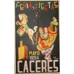 CACERES 1954 FERIA Y FIESTAS