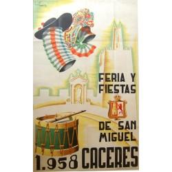 CACERES 1958 FERIA Y FIESTAS