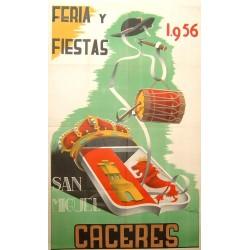 CACERES 1956 FERIA Y FIESTAS