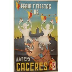 CACERES 1955 FERIA Y FIESTAS