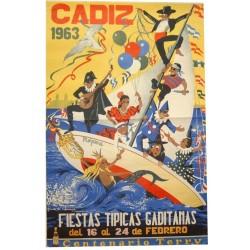 CADIZ 1963 FIESTAS TIPICAS GADITANAS