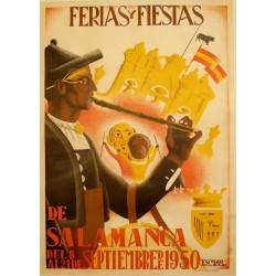 SALAMANCA 1950 FERIA Y FIESTAS