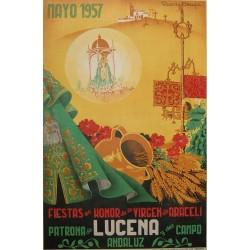 LUCENA 1957 FIESTAS EN HONOR DE LA VIRGEN DE ARACELI