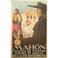 MAHON 1952 FIESTAS DE NUESTRA SEÑORA DE GRACIA