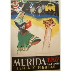 MERIDA 1957 FERIA Y FIESTAS