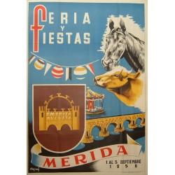 MERIDA 1956 FERIA Y FIESTAS