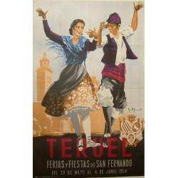 TERUEL 1954 FERIAS Y FIESTAS DE SAN FERNANDO