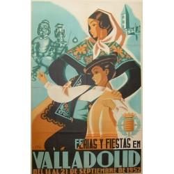 VALLADOLID 1952 FERIAS Y FIESTAS