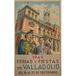 VALLADOLID 1949 FERIAS Y FIESTAS
