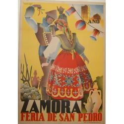 ZAMORA 1940 FERIA DE SAN PEDRO