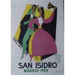 MADRID 1958 FIESTA DE SAN ISIDRO