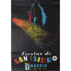 MADRID 1954 FIESTA DE SAN ISIDRO