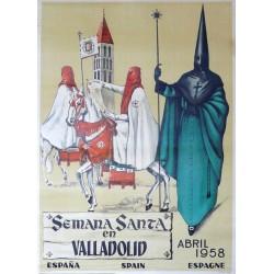 VALLADOLID 1958 SEMANA SANTA