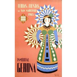 GERONA FERIAS Y FIESTAS DE SAN NARCISO 1965