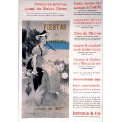 FIESTAS DE BARCELONA JUNIO 1907