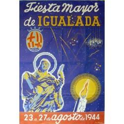 IGUALADA FIESTA MAYOR 1944