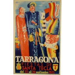 TARRAGONA FIESTAS SANTA TECLA 1943