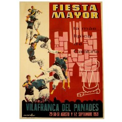 FIESTA MAYOR VILAFRANCA DEL PANADES 1959