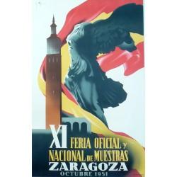 XI FERIA DE MUESTRAS ZARAGOZA 1951