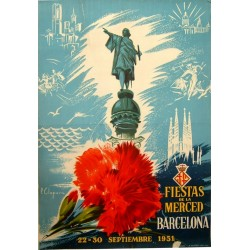 FIESTAS DE LA MERCED 1951. BARCELONA