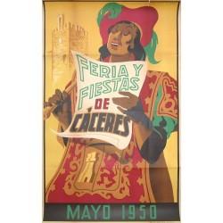 CACERES 1950 FERIA Y FIESTAS
