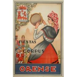 ORENSE 1952 FIESTAS DE CORPUS