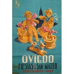 OVIEDO 1949 FIESTAS DE SAN MATEO