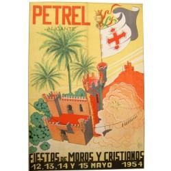 PETREL (ALICANTE) 1954 FIESTAS DE MOROS Y CRISTIANOS