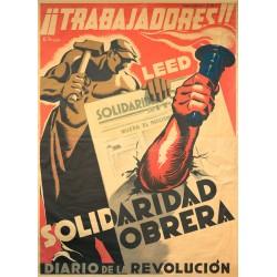 SOLIDARIDAD OBRERA. DIARIO DE LA REVOLUCION