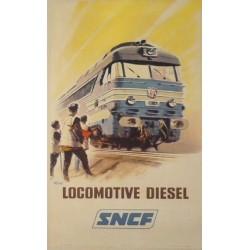 SNCF, LOCOMOTIVE DIESEL -