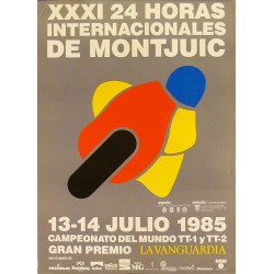 XXXI 24 HORAS INTERNACIONALES DE MONJUIC. 1985