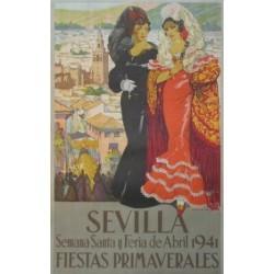 SEVILLA FIESTAS PRIMAVERALES 1941