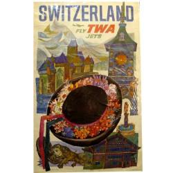 SWITZERLAND FLY TWA JETS