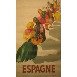 ESPAGNE (TRAJES REGIONALES)