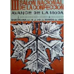 III SALON NACIONAL DE LA CONFECCION. SUBIRACHS