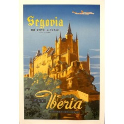 IBERIA. SEGOVIA THE ROYAL ALCAZAR