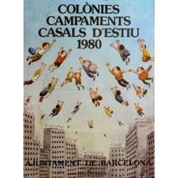 COLÒNIES CAMPAMENTS....ESTIU 1980. CESC