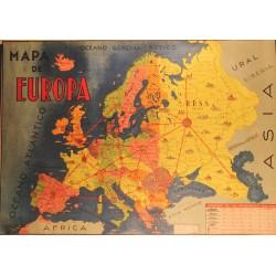 MAPA DE EUROPA PODERIO DE LAS PRINCIPALES NACIONES