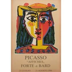 """PICASSO """"AFFICHES"""" FORTE DI BARD"""