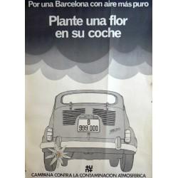 PLANTE UNA FLOR EN SU COCHE