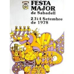 FESTA MAJOR DE SABADELL 1978