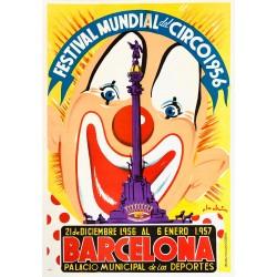 FESTIVAL MUNDIAL DEL CIRCO 1956. BARCELONA
