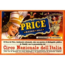 PRICE MADRID HALL. CIRCO NAZIONALE DELL'ITALIA