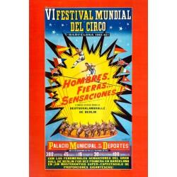 VI FESTIVAL MUNDIAL DEL CIRCO. 1961-1962