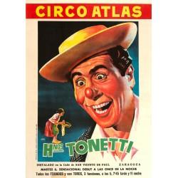 HERMANOS TONETTI. CIRCO ATLAS.