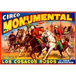 CIRCO MONUMENTAL. COSACOS RUSOS